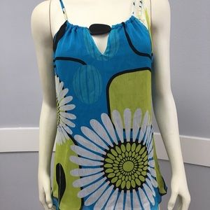 Summer top with bead detail!